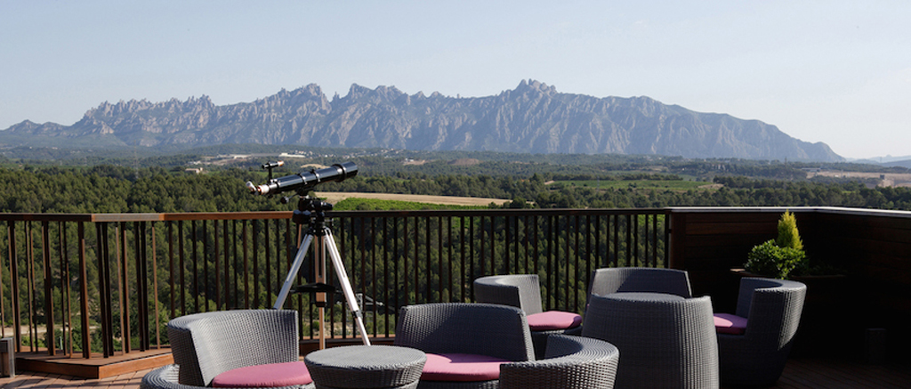 Can Bonastre Wine Resort Montserrat Mountain View 1