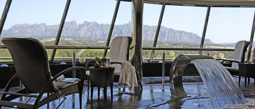 Can Bonastre Wine Resort Spa View Montserrat