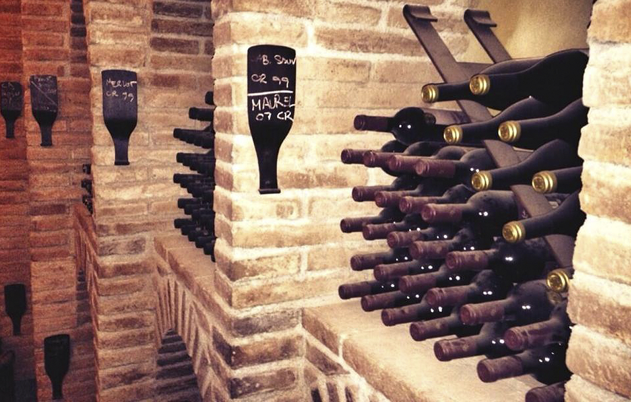Bodega Can Bonastre Winery Wine Cellar