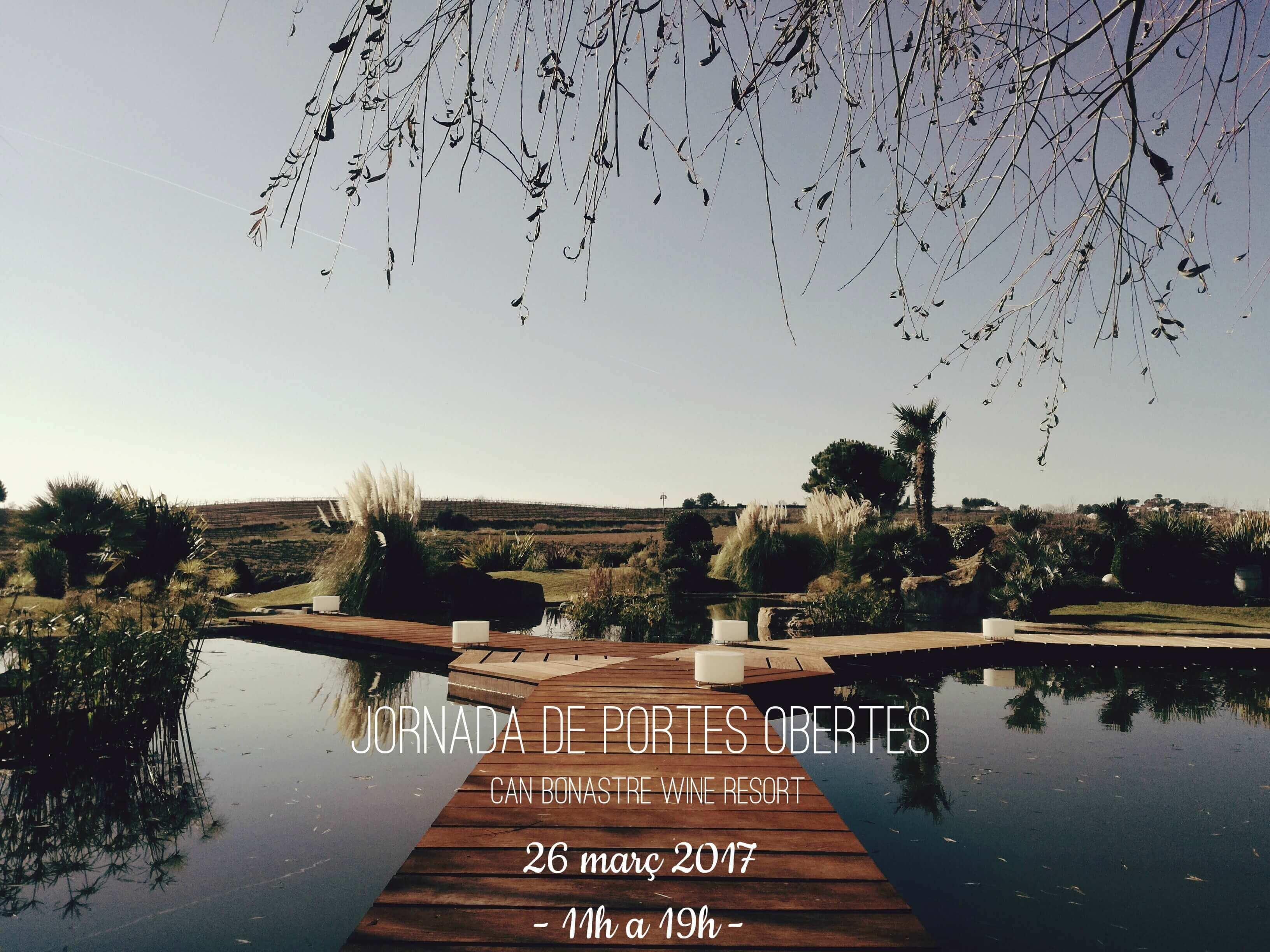 Jornada Abierta Can Bonastre Wine Resort 26 marzo 2017