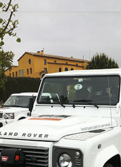 Land Rover Event at Can Bonastre Wine Resort
