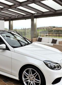 Mercedes Class E Presentation at Can Bonastre Wine Resort